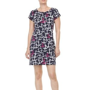Hatley Anchor t-shirt dress size S